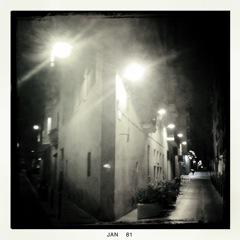 Straße in Barcelona