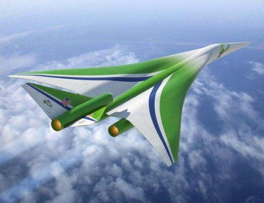 The Son of Concorde - The new supersonic jet