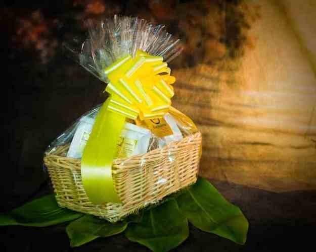 Hibiscus Gift Basket
