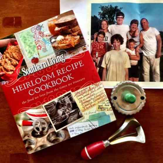 What treasured kitchen trinkets might your family want from your kitchen someday? An Heirloom Kitchen giveaway from karenehman.com