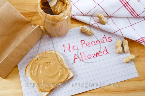 Royalty Free Content: Warning - No Peanuts Allowed