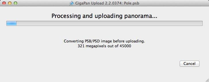 GigPan Upload