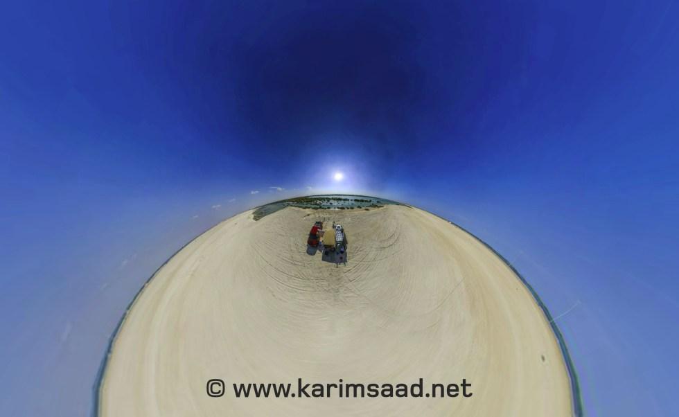 Yas Mangrove spherical gigapixel image