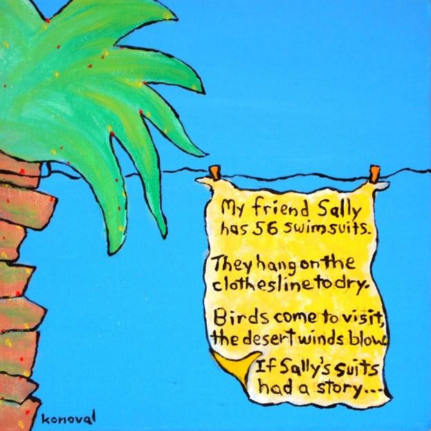 My Friend Sally Has 56 Swim Suits #1, Karin Konoval