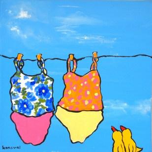 My Friend Sally Has 56 Swim Suits #5, Karin Konoval