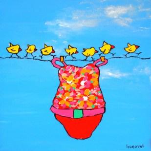 My Friend Sally Has 56 Swim Suits #13, Karin Konoval