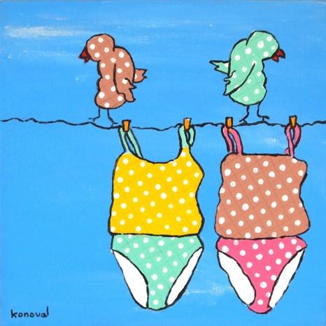 My Friend Sally Has 56 Swim Suits #15, Karin Konoval