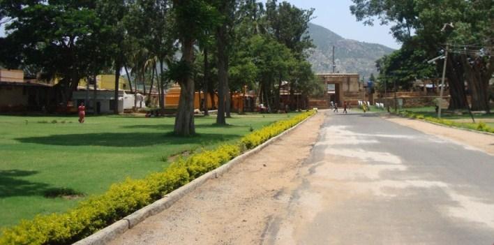 Bhoganandishwara temple entrance, Nandi Hills