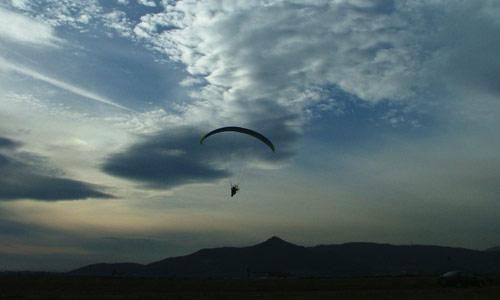 Paragliding near Bangalore