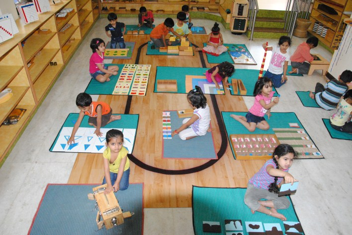 Photo courtesy: Chimes Montessori, Jayanagar, Bangalore