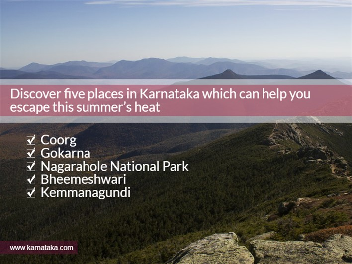 5 Places to Visit in Karnataka in Summer