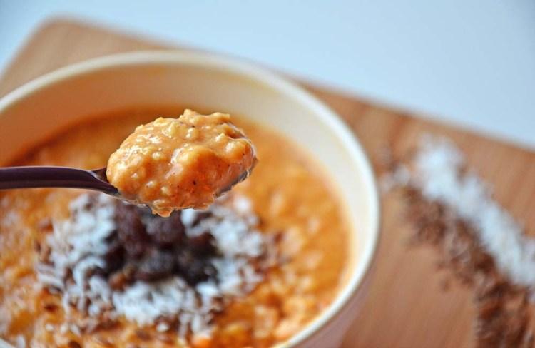 Sweet potato oatmeal