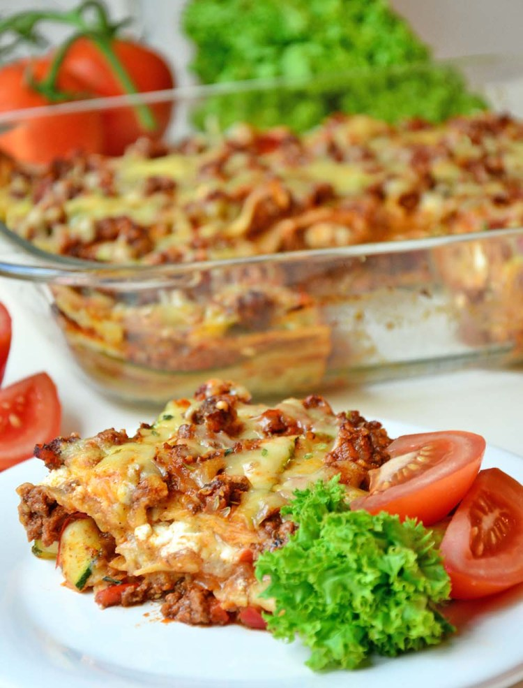 Healthy lasagna