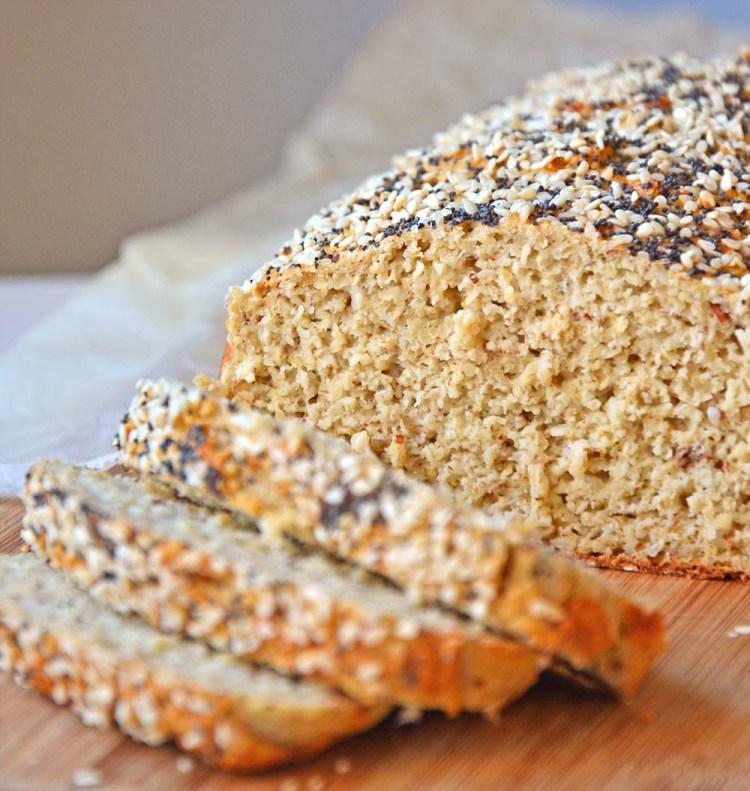 Havrebrød med høyt proteininnhold