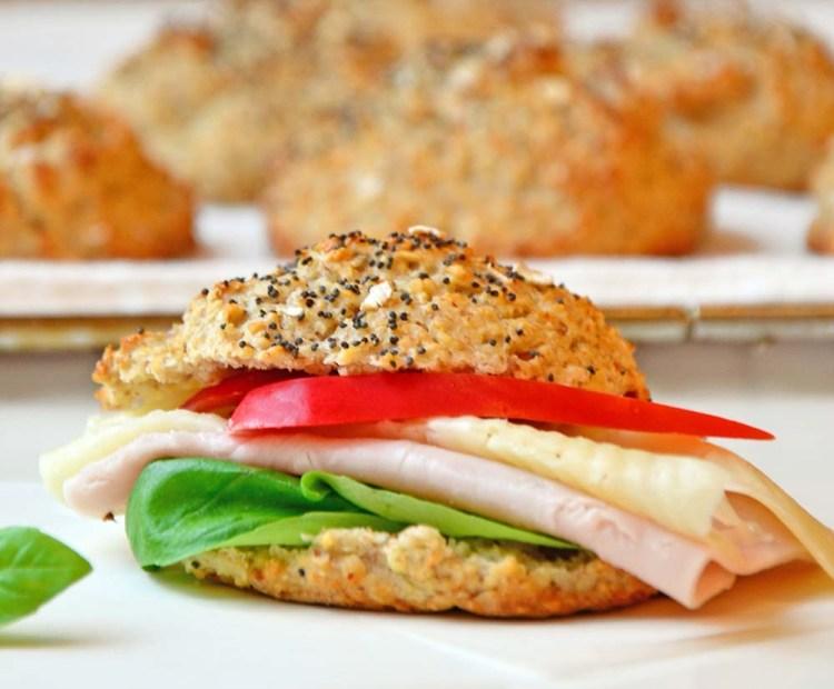 Whole grain scones
