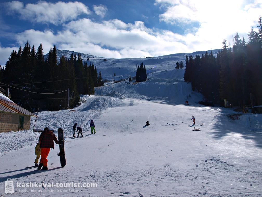 Hit the slopes for top-notch skiing and snowboarding