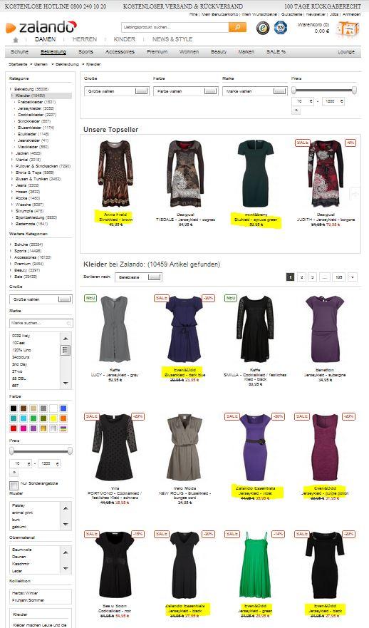 zalando-kleider-eigenmarken