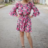 Look do dia: vestido floral