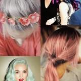 Colorindo o cabelo