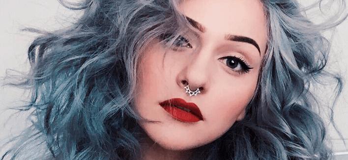 Inspiração: Make pra quem tem cabelo colorido