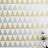 VÍDEO: Como fiz minha parede de triângulos