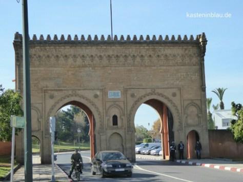 Tor zum Viertel des Königspalastes