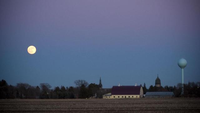 st. joe, late winter twilight.