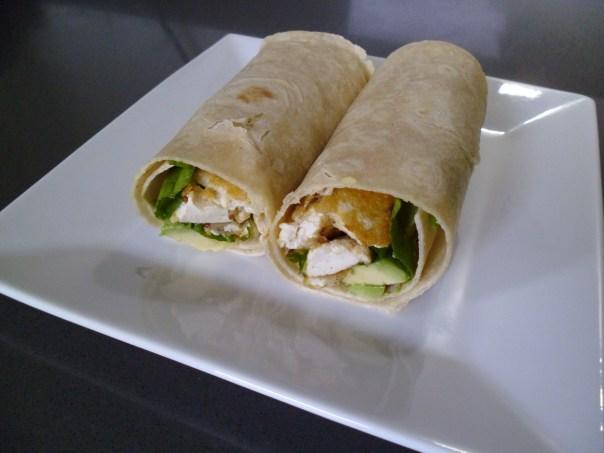 Vegan Chicken Wrap Recipe