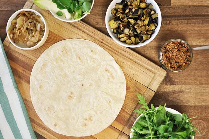 Basics: Tortilla-Wraps falten