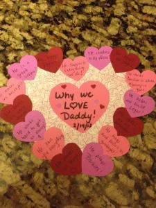 The Husband ProjectValentines Day Challenge – Day 4 Post-it Note Challenge!