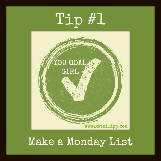 My Goals this Week, Tips for Achieving Your Goals #1, and Win The Me Project