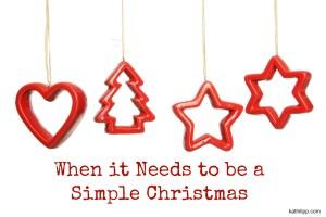 Simple Christmas blog
