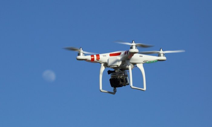 Drones hold promise for new views and data in journalism but pose important ethics questions. (Photo courtesy of  Don McCullough and used here under Creative Commons license)