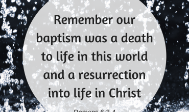 Living Our Baptism as an Easter Moment
