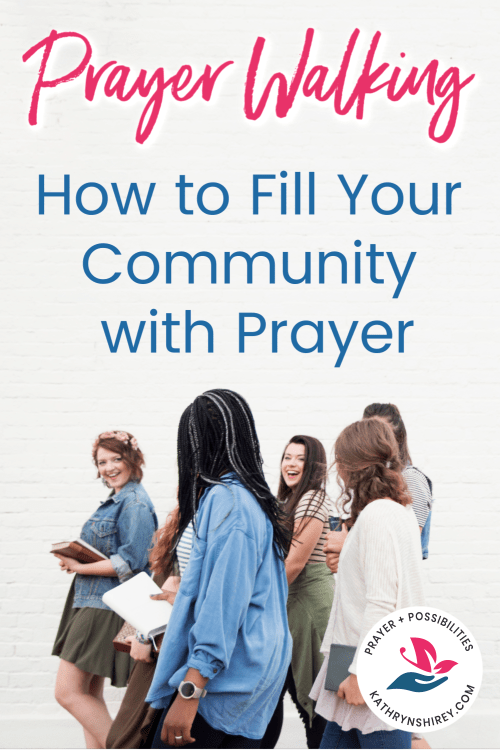 Take your prayers to the street with a prayer walk. 6 prayer walking ideas, such as praying on location in your community, your neighborhood, your school...