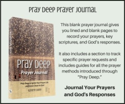 Pray Deep Journal Card