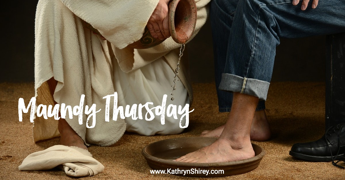 Maundy Thursday Holy Week Prayers
