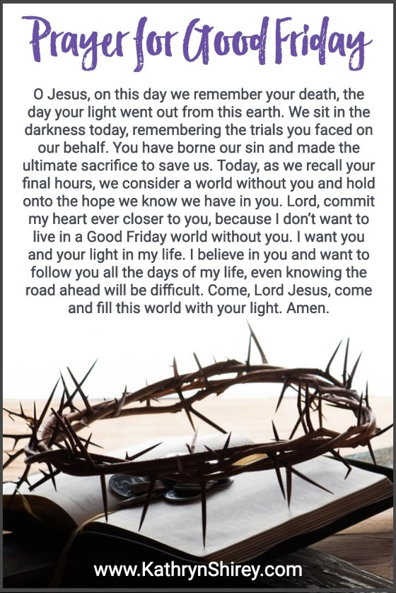Prayer for Good Friday