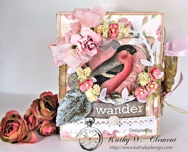 Wander Mini Album for RRR Show me the Pink Challenge 01