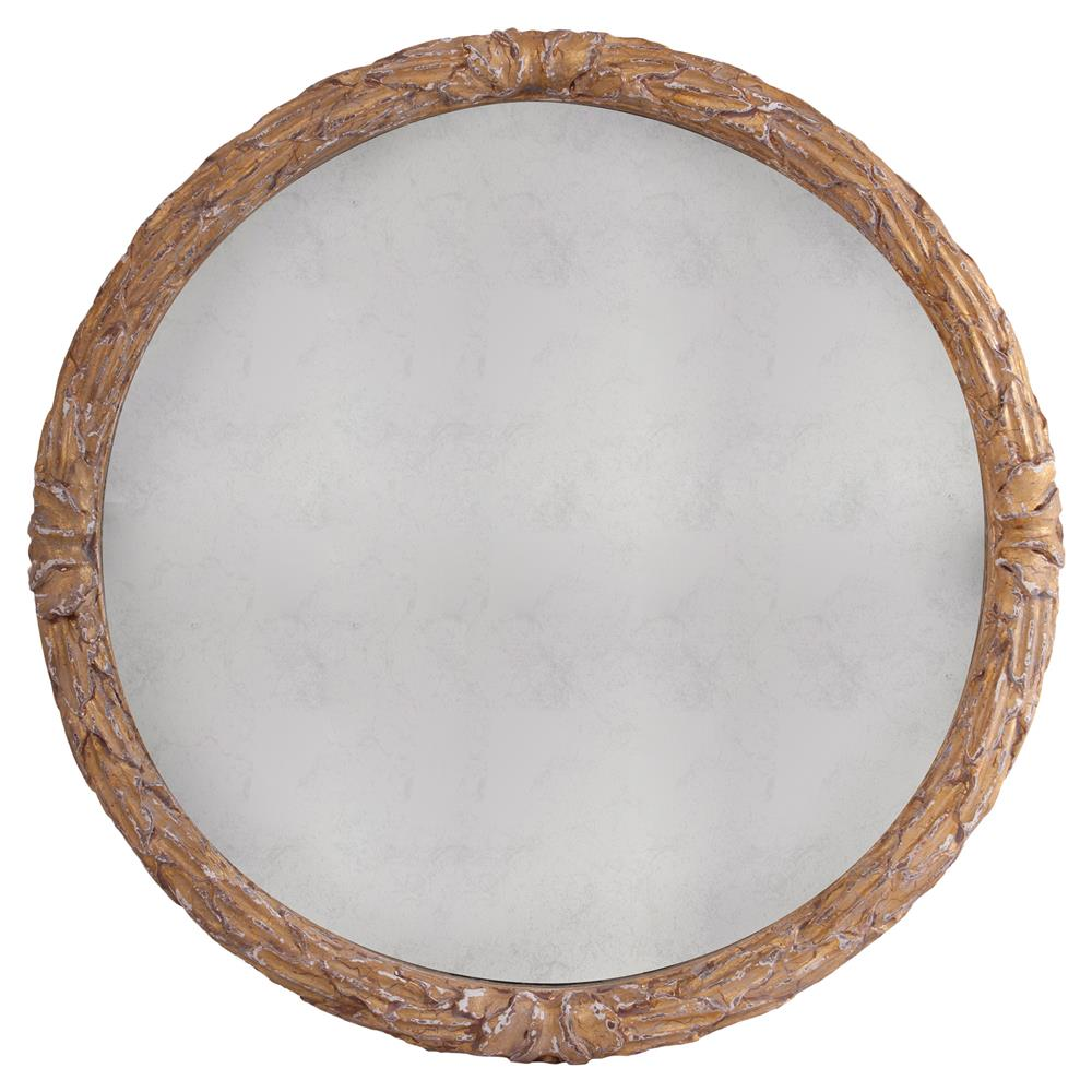 Smartly Sale Round Wall Mirror Set Cyprien French Country G Floral Engraved Round Wall Mirror Kathy Kuohome Cyprien French Country G Floral Engraved Round Wall Mirror Round Wall Mirrors houzz-03 Round Wall Mirror