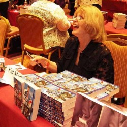 Kat Loves to Meet Fans at Book Signings!