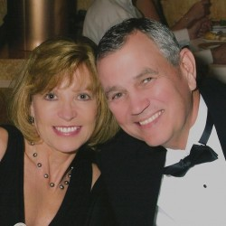 Kat, With Husband LJ Martin