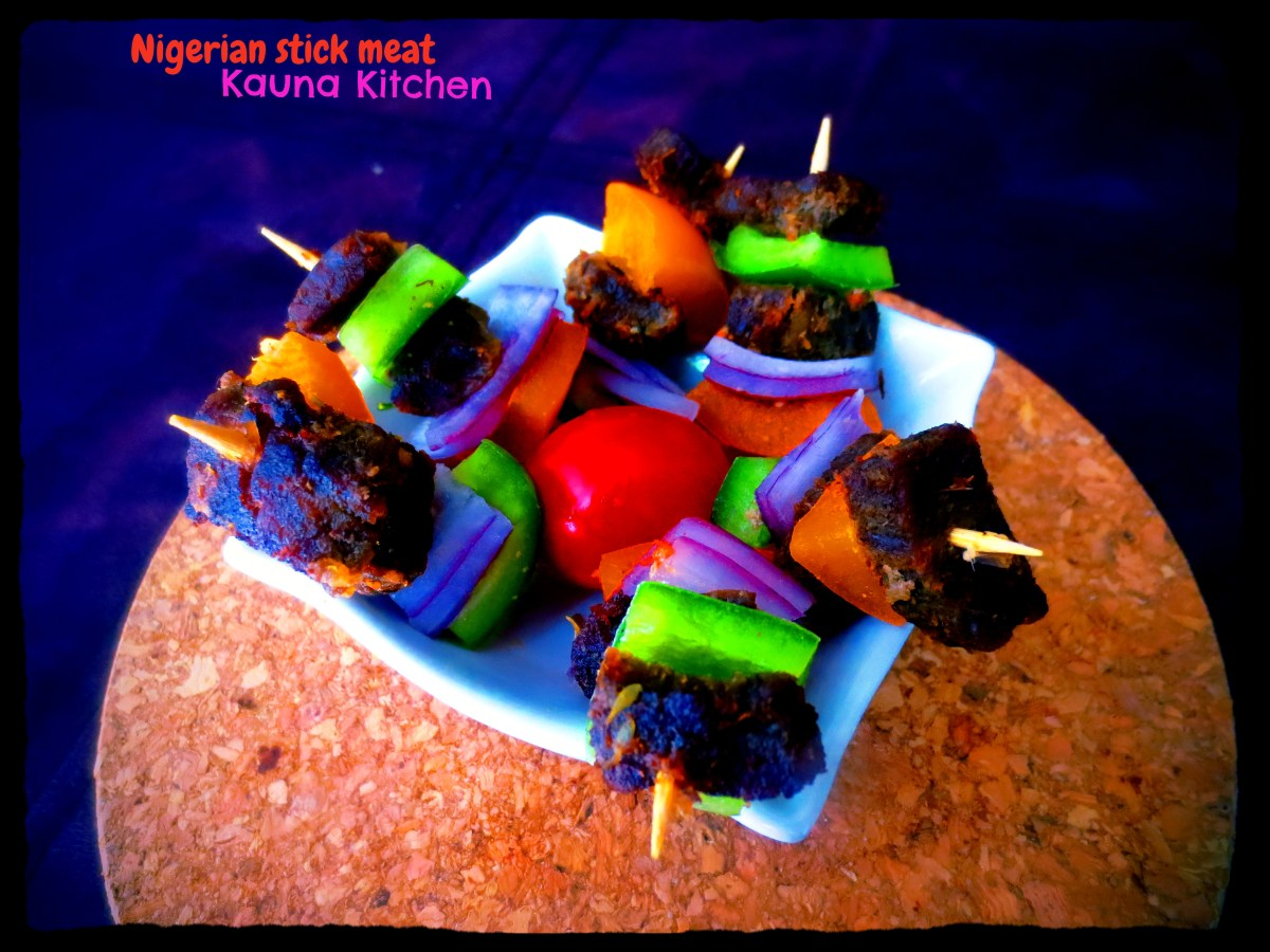 Nigerian Stick Meat-Mini-Beef Skewers