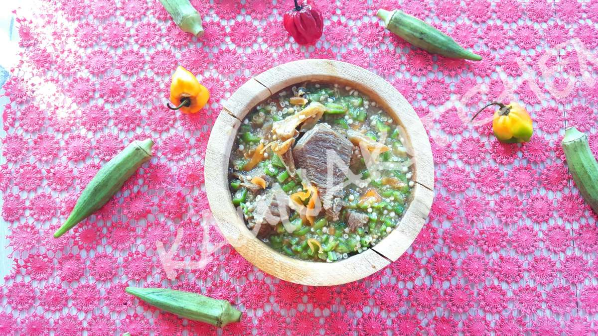 White Okra Soup