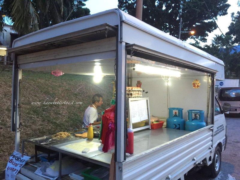 Hillside Tanjung Bungah Uncle Burger Van @ Tanjung Bungah, Penang