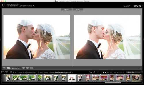 Medium Of Lightroom Before And After