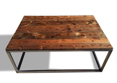 Medium Of Industrial Coffee Table