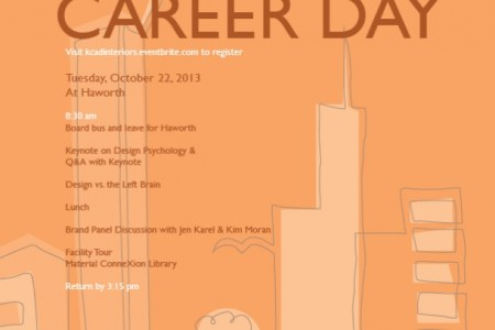 interior design career day 2013 | kendall college of art