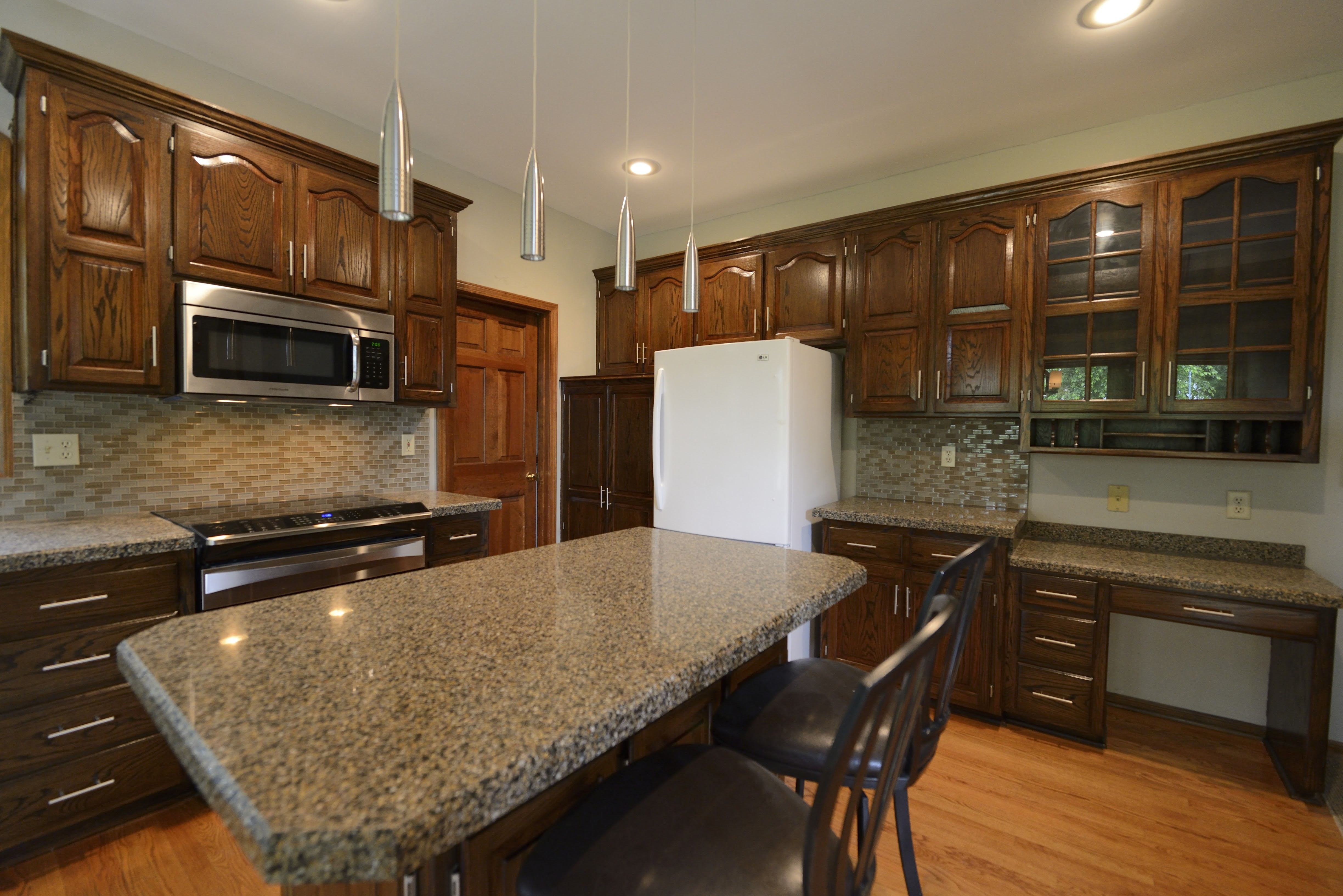 Remodeled Cabinets After Artisan Construction 7321 N Antioch Gladstone MO 641192