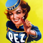 Pez first introduced the Pez Girls in the 1950s